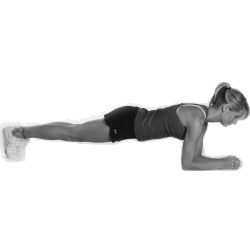 How to do the plank for longer