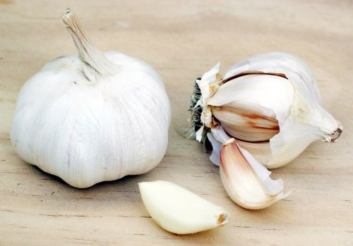 Garlic - helps boost immune system