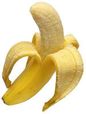Banana - ideal snack before running